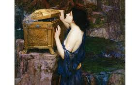 pandora the goddess who unleashed both hell and hope upon   pandora by john william waterhouse 1896