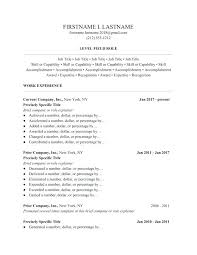 Brief Resume Format Brief Resumes Resume Format Free Download Word ...