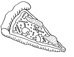 Small Picture Pizza Coloring Pages Of Food Foods Coloring pages of