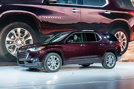 2018 chevrolet vehicles. interesting 2018 2018chevrolettraverseexteriorlivereveal001 to 2018 chevrolet vehicles