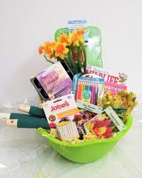 gift basket and flower ideas