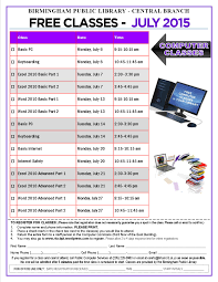 Birmingham Public Library Registration Open For July 2015