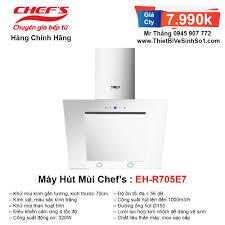 Máy Hút Mùi Chefs EH-R705E7 | Tổng Kho Bếp Nhập Khẩu Chính Hãng