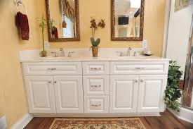 bathroom cabinet remodel. Unique Remodel View Larger Image Bathroom Remodel White Cabinets Yellow Interior For Cabinet M
