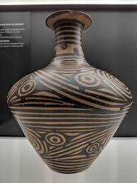 How To Design Pottery Majiayao Culture Linear Design Pottery Illustration