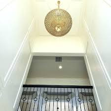 2 story foyer chandelier foyer with gold sphere chandelier how high to hang chandelier in 2