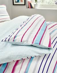 multi stripe duvet cover