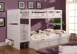 girls white bedroom furniture. white bunk beds with stairs plus drawers and unique wooden floor for kids bedroom girls furniture