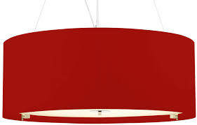 red pendant lighting. dar zaragoza large modern 6 light pendant 90cm red drum lighting