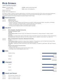 Resume Templates For Entry Level Entry Level Resume Sample And Complete Guide 20 Examples