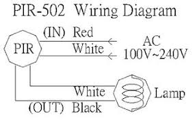 motion detector wiring diagram wiring diagram pir sensor light wiring diagram electronic circuit