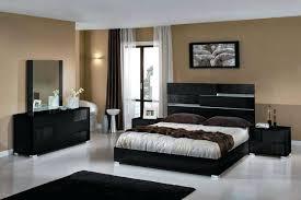 Modern Italian Bedroom Set Centralparcco Gorgeous Black Contemporary Bedroom Set