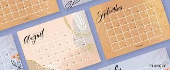 Q3 2019 Content Calendars Planoly