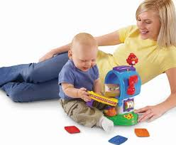 Mother plays with 6-month baby boy Best Toys for 6 Month Old Babies: Top-rated toys review