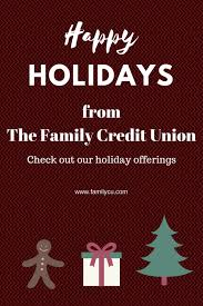 holiday offerings from tfcu