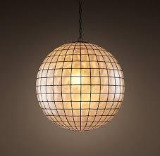 capiz shell lighting fixtures. Capiz Shell Pendant 24\ Lighting Fixtures U