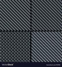 Carbon Fiber Pattern Cool Carbon Fiber Seamless Patterns Royalty Free Vector Image