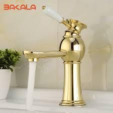 Gold Bathroom Popular Gold Bathroom Faucets Buy Cheap Gold Bathroom Faucets Lots