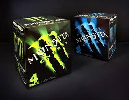 Design Monster Energy Monster Energy Multi Pack Case Design Brand Packaging