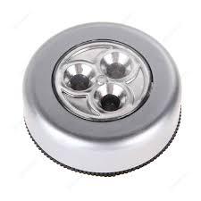Led Battery Powered Wireless Night Light Stick Tap Touch Lamp Light