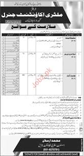Genral Office Military Accountant General Office Jobs 2019 Via Nts 2019
