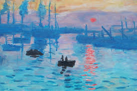 paint impression sunrise step by step in the style of monet in oils you