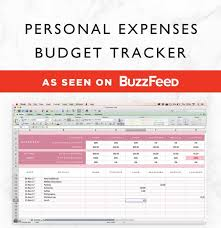 Budget Tracking Template Interesting Expenses Tracker SpreadsheetBudget PlannerFinancial Etsy