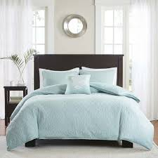 madison park mansfield 2 in 1 seafoam duvet cover coverlet set within remodel