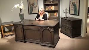 amaazing riverside home office executive desk. Belmeade Executive Desk And File Cabinet By Riverside Furniture | Home Gallery Stores - YouTube Amaazing Office G