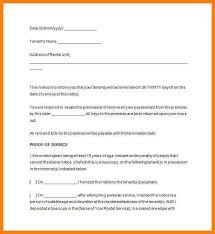 30 day notice to move out letter 13 template notice to vacate rental property g unitrecors