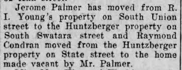 Jerome Palmer - moved - Newspapers.com