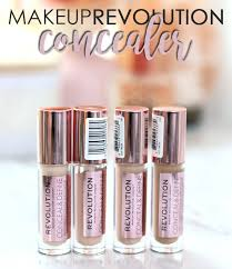 makeup revolution concealer revolution beauty conceal define concealer review and swatches slashed beauty