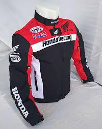promo jaket motor honda hrc full protr jaket harian pria honda racing club touring new