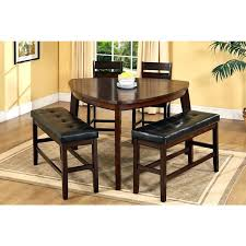 remarkable ideas 2 chair dining table stupefying triangle in with bench remodel 7 black kitchen chairs and benches bedrooms to go houston picture of