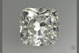 Cushion Cut Diamond Medium Fluorescence Ritani