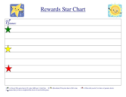 Reward Chart Template 10 Printable Coloring Pages For Kids