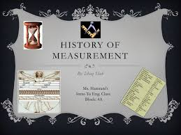 Powerpoint History History Of Measurement Powerpoint Presentation