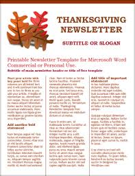 Three Column Newsletter Template Worddraw Com Free Thanksgiving Template For Microsoft Word