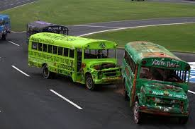 School Bus Racing Monster Truck Rides And Championship Battles