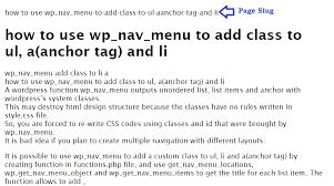 how to get page slug name in wordpress