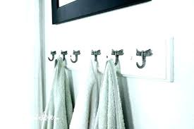 Modern towel hook Trendy Wall Modern Towel Hooks Unique Bathroom Luxury Or Chrome Hook Rack Outdoor Bar Towel Rack With Hooks Playdhdcom Chrome Towel Hooks Modern Square Round Or Robe Hook Black Buy Bath