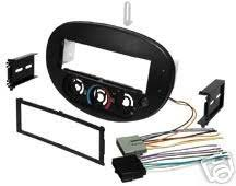 amazon com stereo install dash kit ford escort 97 98 99 00 01 2000 Ford Mustang Radio Wiring Harness stereo install dash kit ford escort 97 98 99 00 01 car radio wiring installation 2000 mustang radio wiring harness