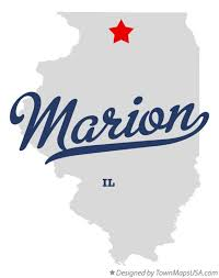 Map of Marion, Ogle County, IL, Illinois