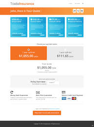 Web Design Package Pricing Masculine Bold Insurance Web Design For A Company By Pb