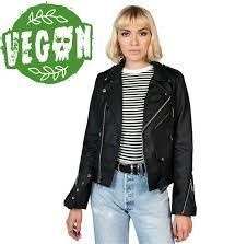 leather jacket women s vegan commando ii straight to hell