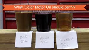 Why Motor Oil Changes Color And How To Tell What It Means Why Engine Oil Color Change