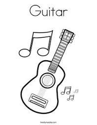 Small Picture coloring page Musical Instruments Muziek Kleurplaten Pinterest
