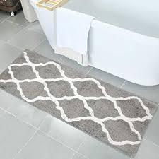 com pauwer microfiber bath rugs non slip rug runner