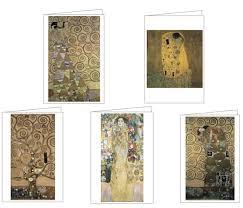 teneues gustav klimt notecards art history stationery klimt cards
