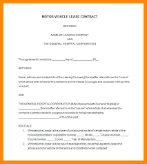 Vehicle Lease Agreement Sample April 2018 Page 20 Skincense Co